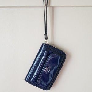 Coach Bags - Coach patent leather wallet wristlet